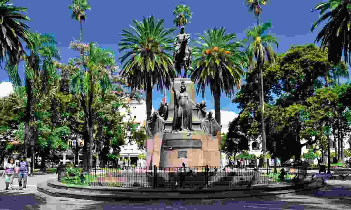 Central Plaza, Salta (Dreamstime)