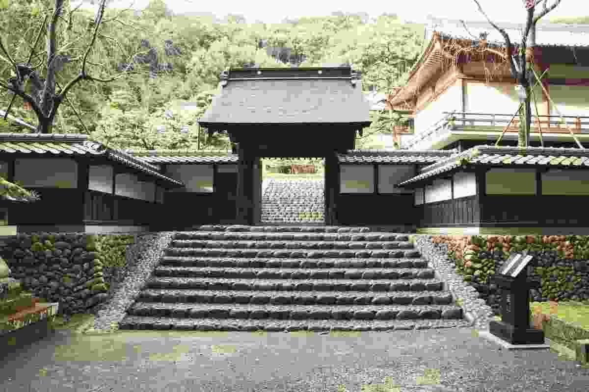 Hattasan Soneiji Temple, near Fukuori, Shizuoka, Japan (Shutterstock)