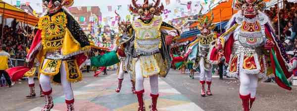 Oruro Carnival, Bolivia (Shutterstock)