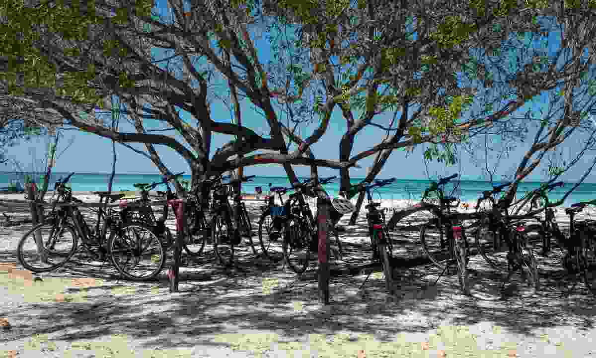 Biking to the sands of Cayo Jutías beach (Claire Boobbyer)