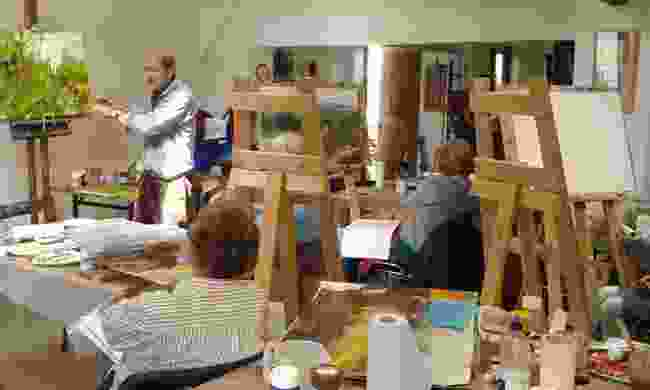 Bobby Britnell's studio (Bobby Britnell)