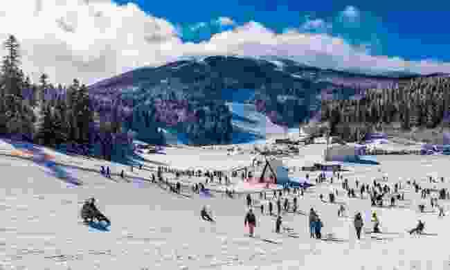 Bjelašnica slopes near Sarajevo (Shutterstock)