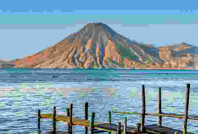Volcan San Pedro on Lake Atitlán (Sarah Gilbert)