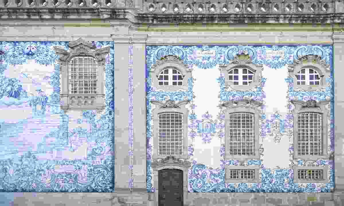 Traditional tiled church in Porto, Portugal (Shutterstock)