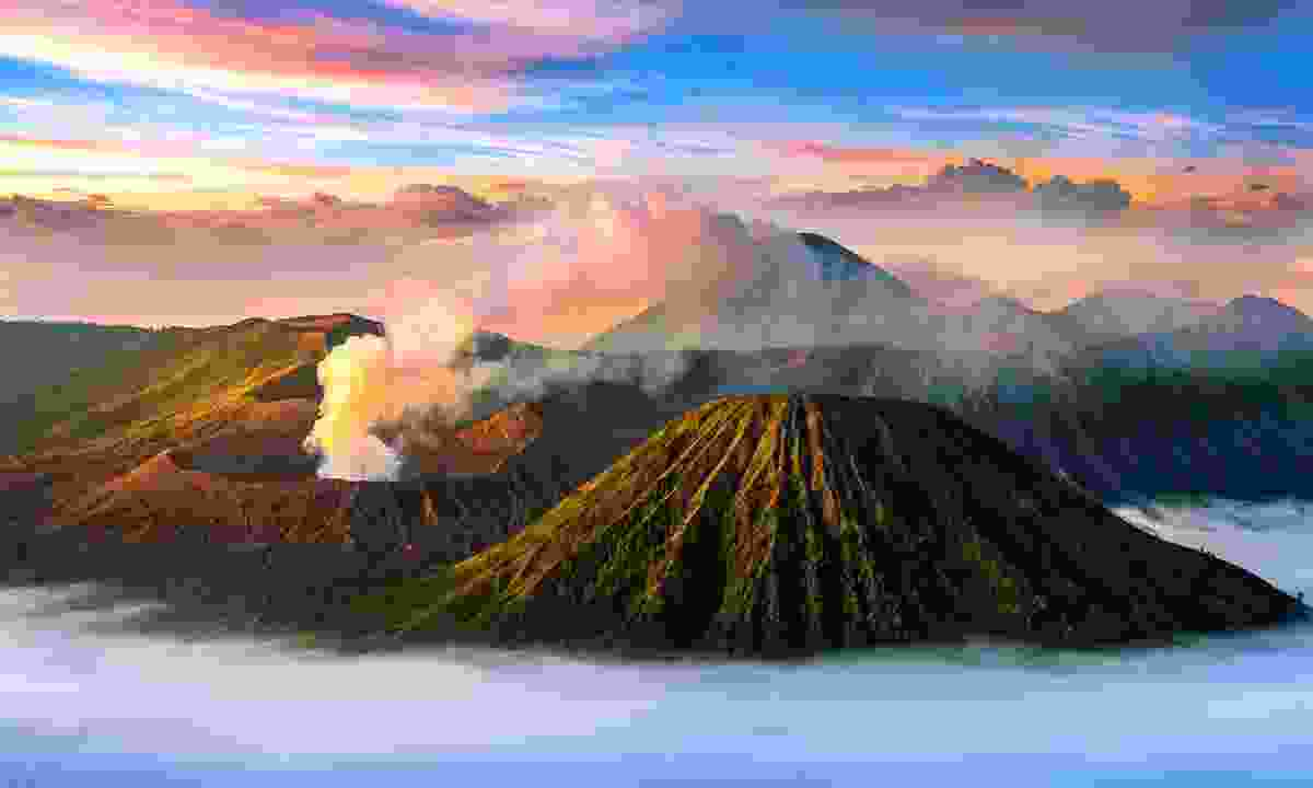 Mt Bromo in Java, Indonesia (Shutterstock)