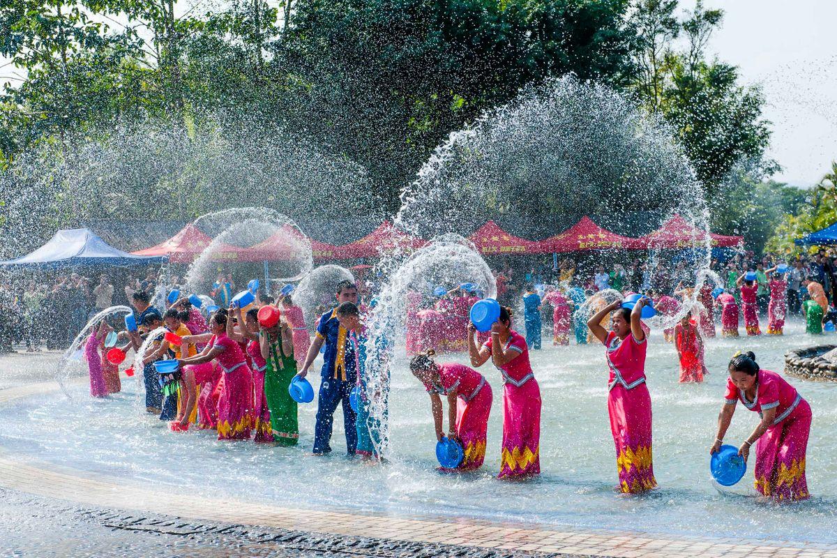 Image result for Songkran Festival