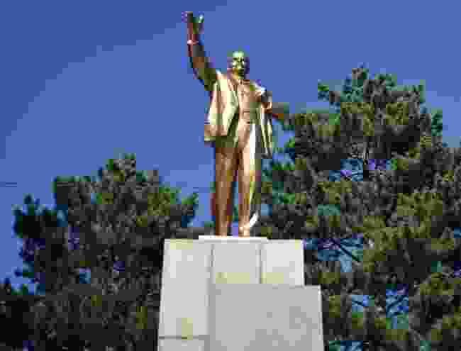 Lenin Statue in Karakol (Mark Stratton)