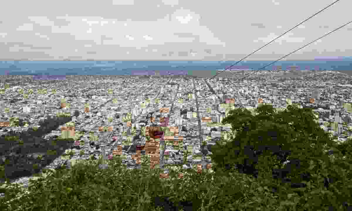 Aerial view of Salta from the teleférico (Dreamstime)