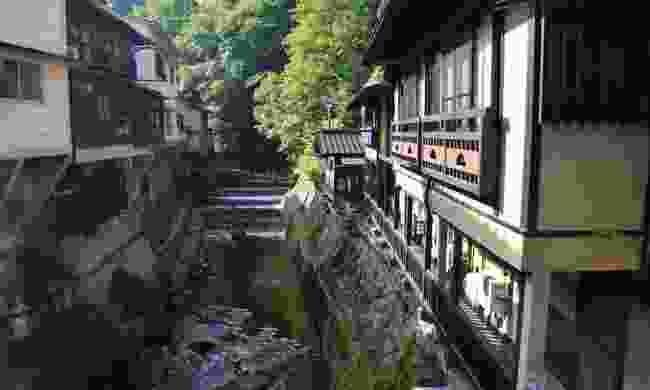 The hot spring town of Kurokawa