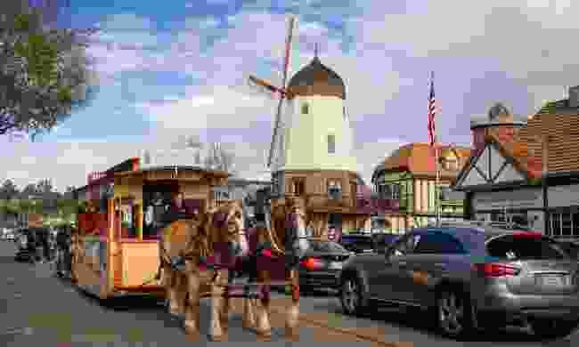 Main Street, Solvang, California (Shutterstock)