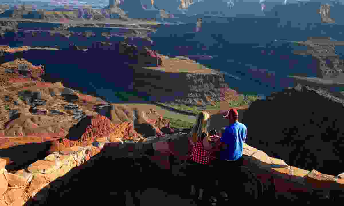 Iconic Dead Horse Point State Park was used as the Grand Canyon during the finale of Thelma and Louise  (Doug McKinley)