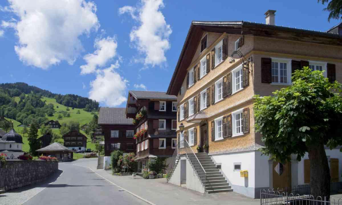 Village of Schwarzenberg, Bregenzerwald (Shutterstock)