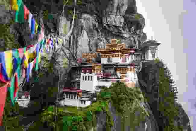 Taktsang Monastery in the Paro Valley, Bhutan (Shutterstock)