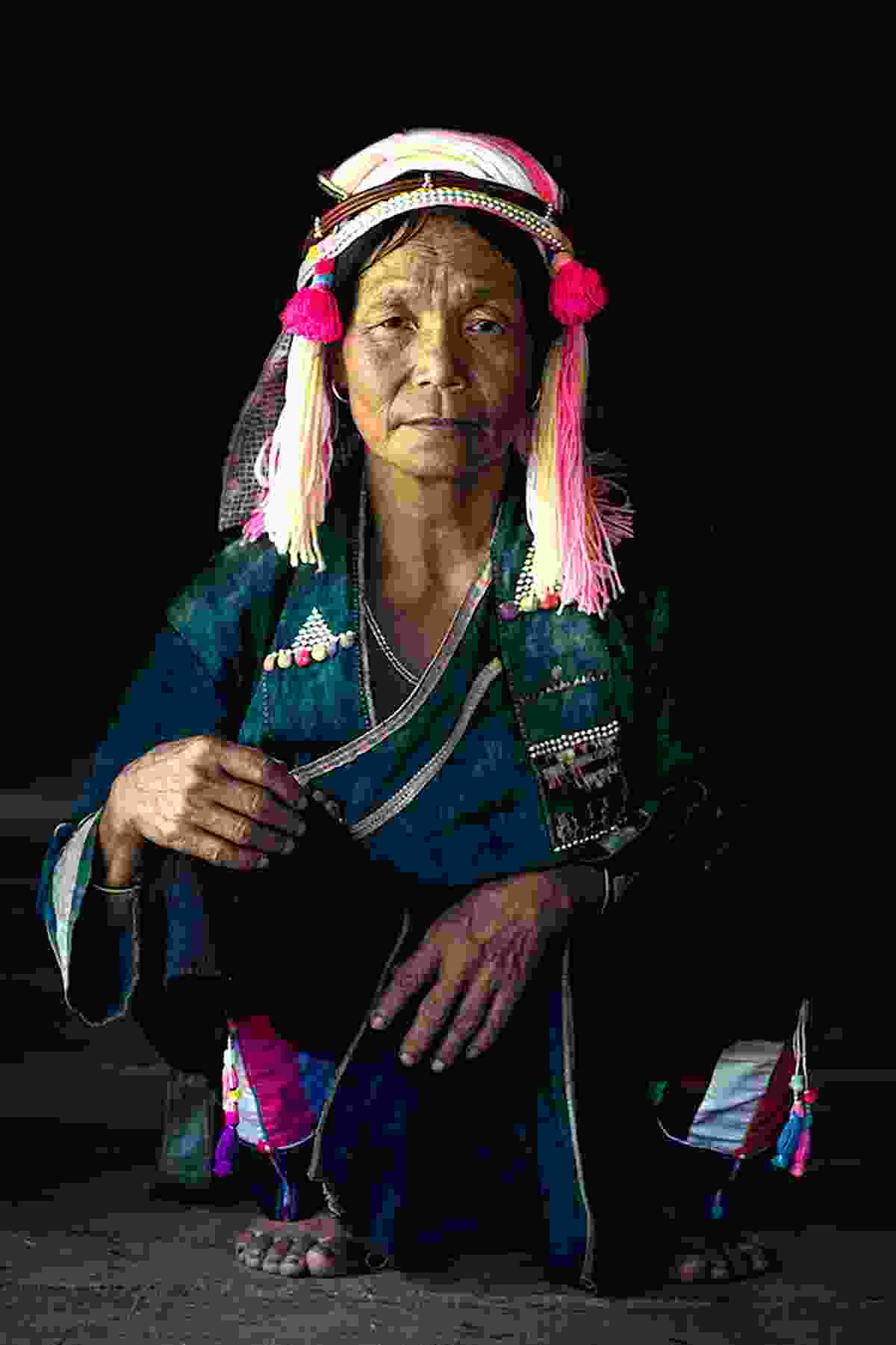 Lady from the Pink Ha Nhi in a remote area in the north of Vietnam (Réhahn photography)