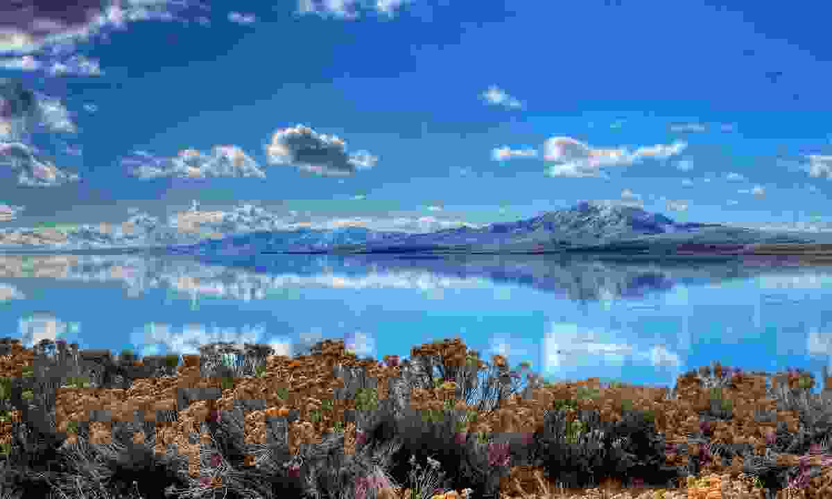 Antelope Island State Park offers stunning views over the Great Salt Lake