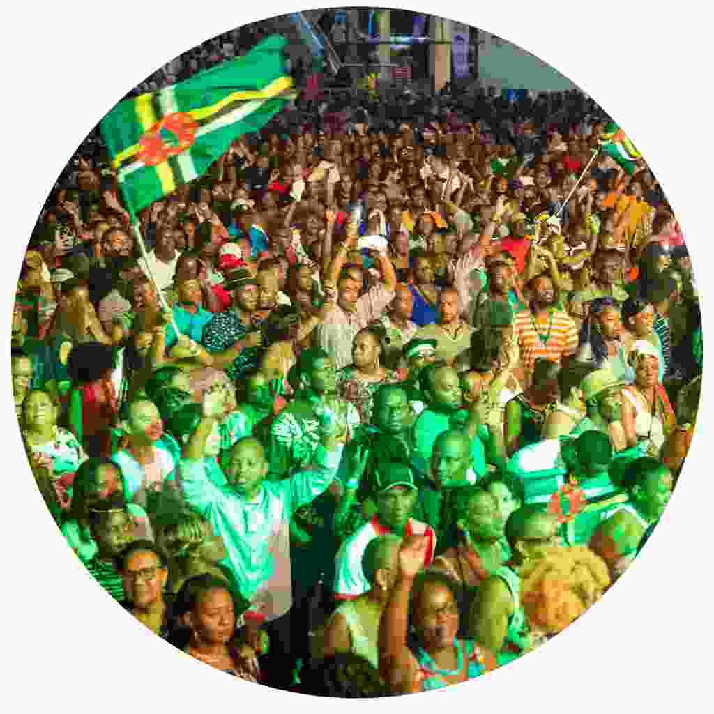 The audience at the World Creole Music Festival