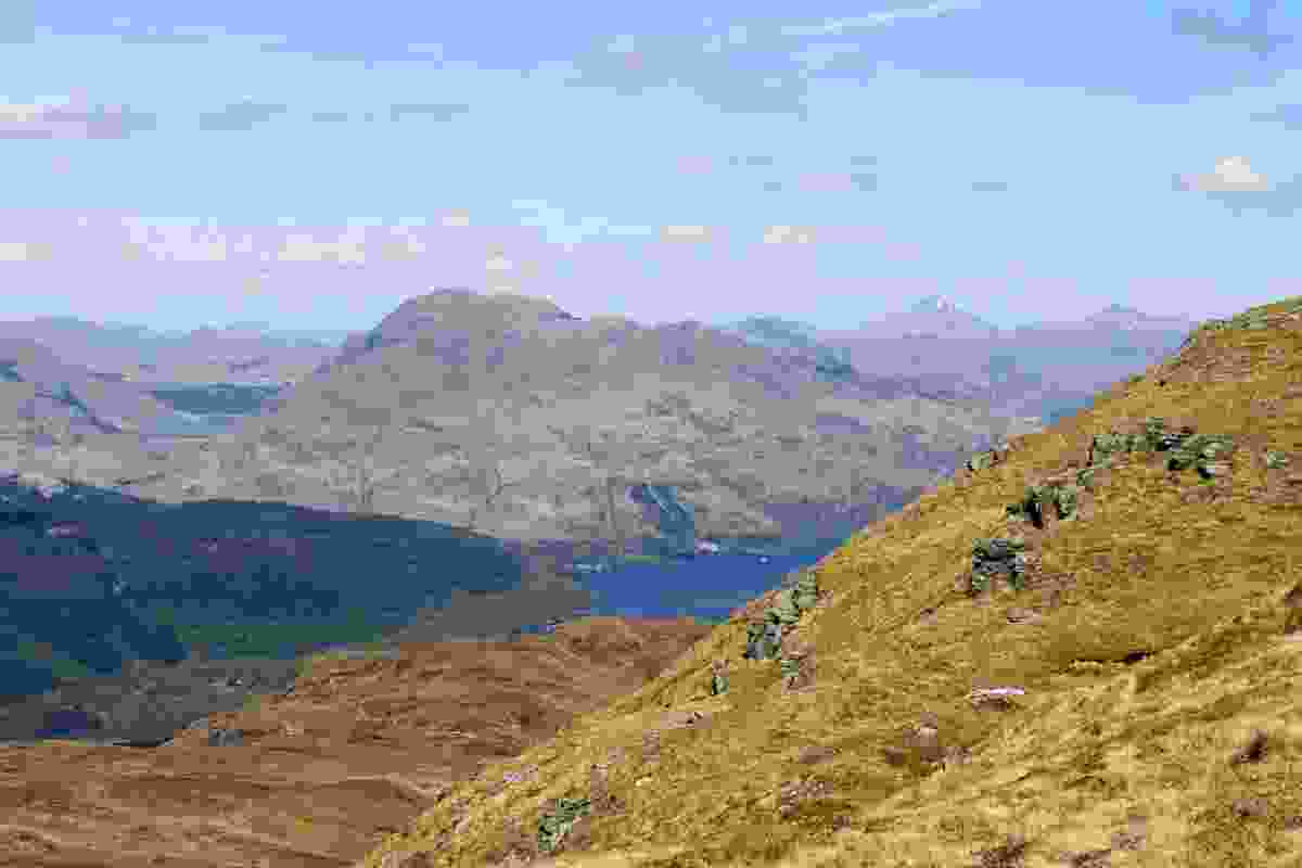 The view from the west side of Ben Lomond, looking towards Ben Vorlich and Loch Sloy (Dreamstime)