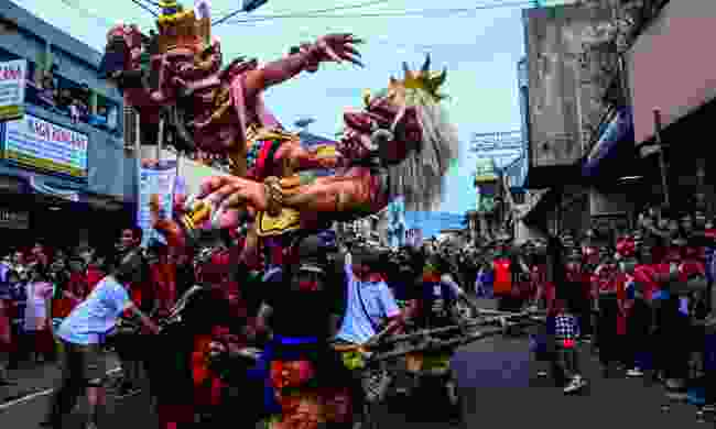 Balinese New Year celebrations (Agustinus Wibowo)