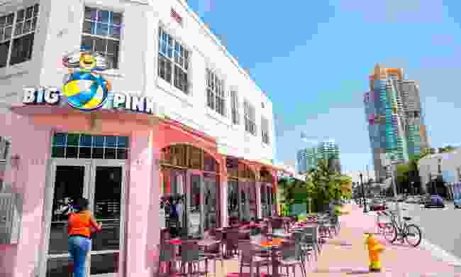 Big Pink restaurant, Miami (Shutterstock)