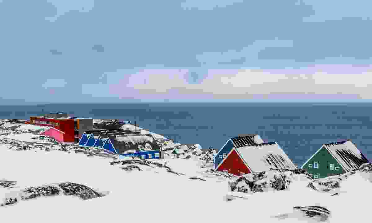 Snow-covered Nuuk (Dreamstime)