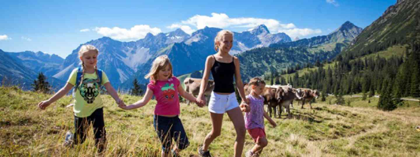 Family holiday in Vorarlberg (vorarlberg-alpenregion.at)