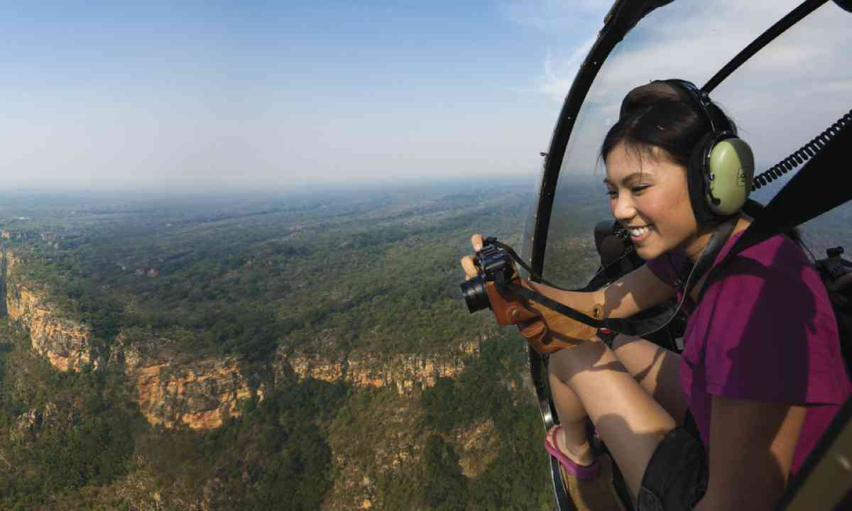 Helicopter tour (Tourism NT)