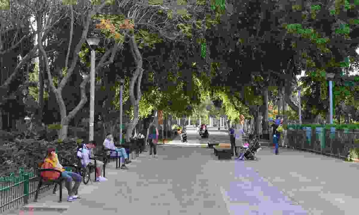 Gan Meir Park (Dreamstime)