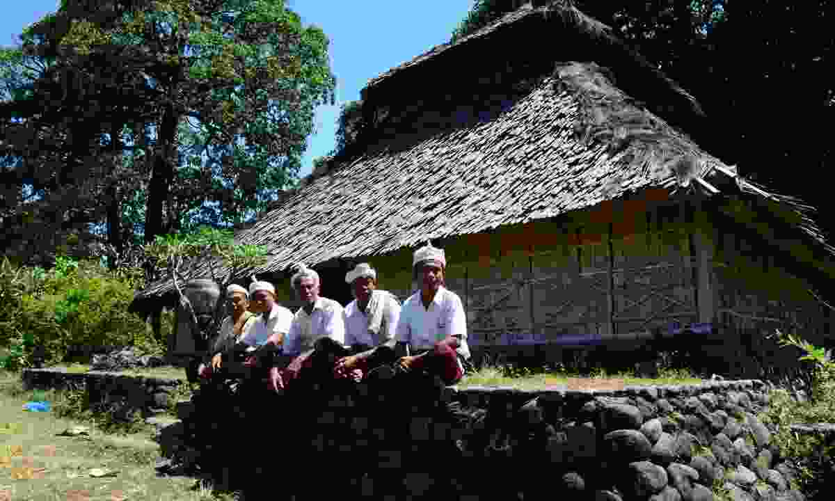 Wetu Telu people celebrating Eid (Agustinus Wibowo)