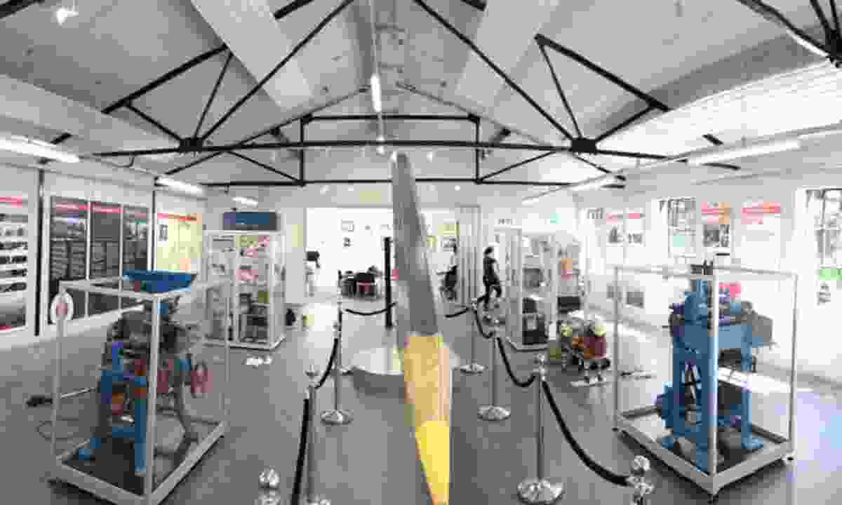 26ft giant pencil, Derwent Pencil Museum (Maurice Oliver)