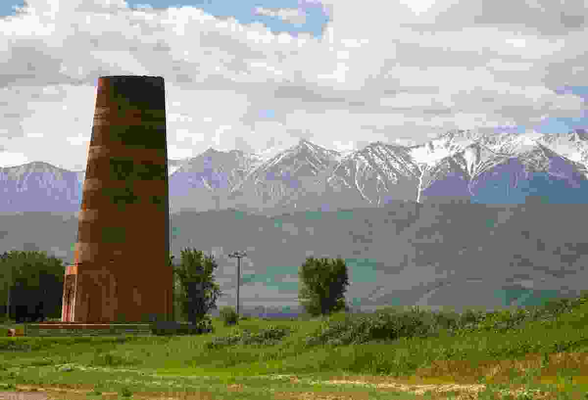 Burana Tower in Chuy Valley, northern Kyrgyzstan (Shutterstock)
