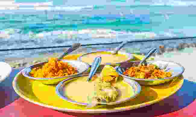 Fish curry by the sea in Sri Lanka (Shutterstock)