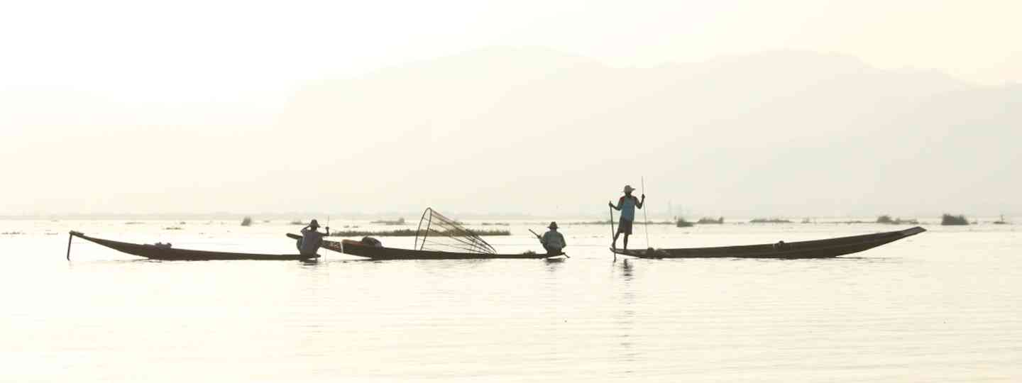 Fishermen on Inle Lake, Burma (Graeme Green)