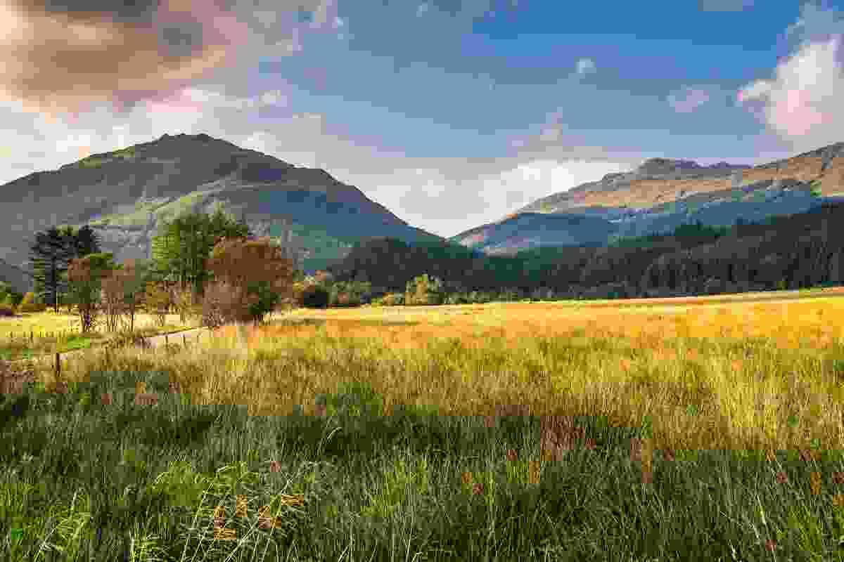 A stunning view of Arrochar Alps and Loch Lomond, Scotland (Shutterstock)