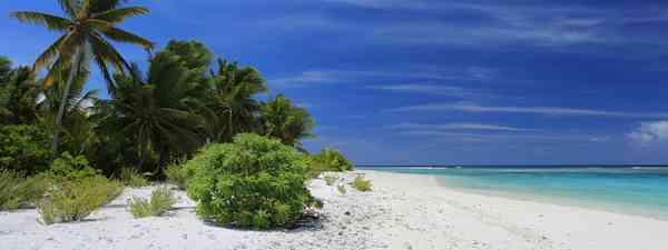 Lagoon on Fanning Island,Kiribati