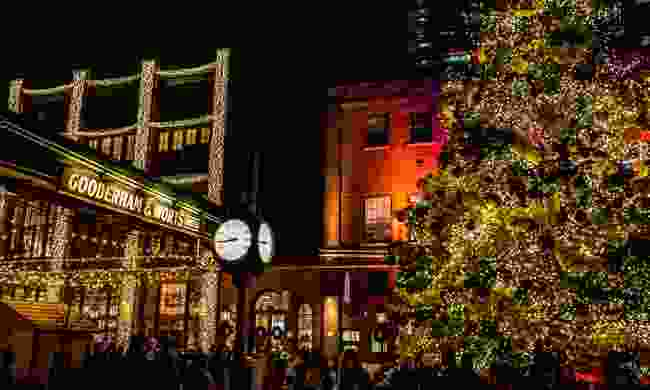 The Toronto Christmas Market, Distillery District (Shutterstock)