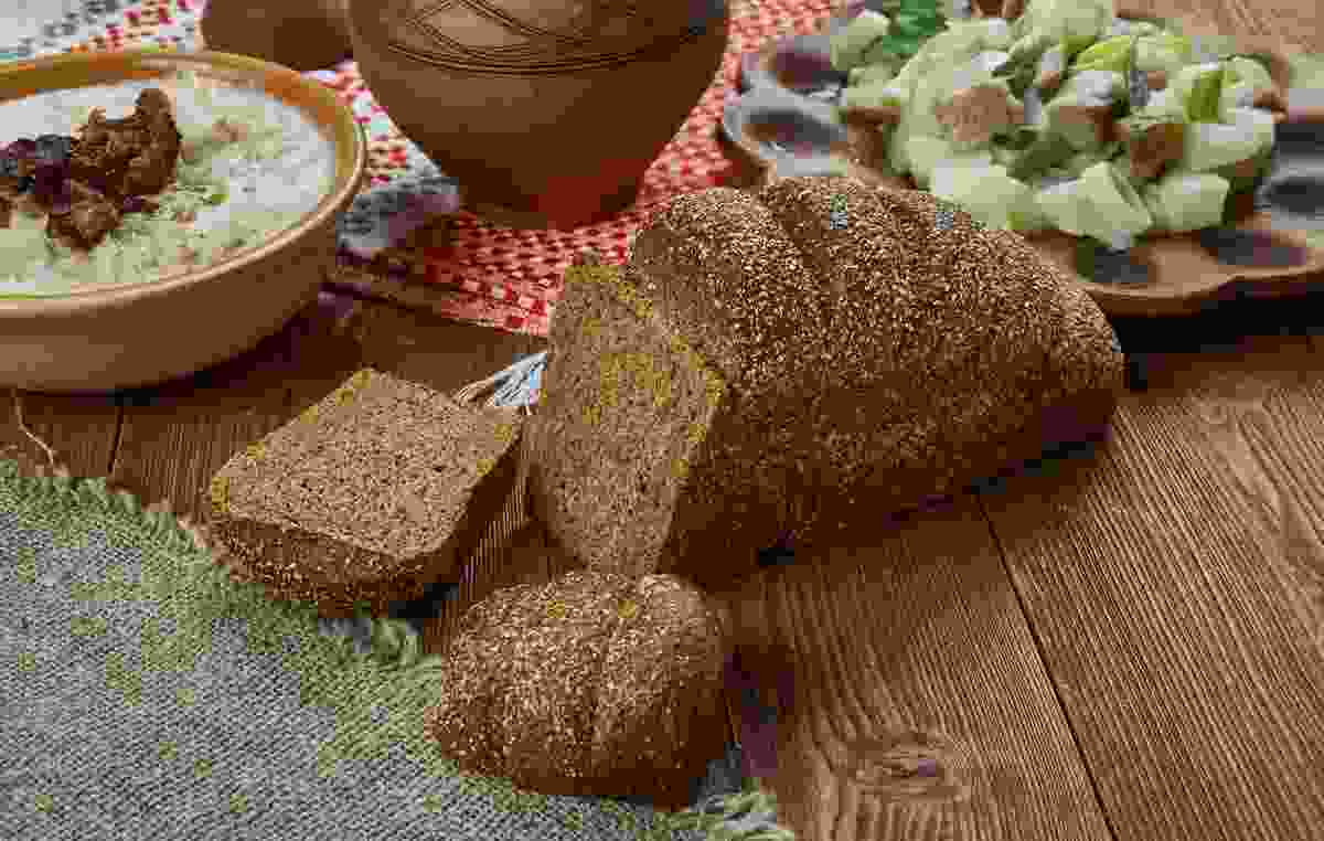 Rujpmaize, aka Latvia's take on rye bread, is especially dark (Dreamstime)