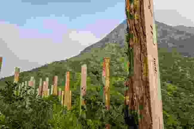 The Wisdom Trail on Lantau Island, Hong Kong (Shutterstock)