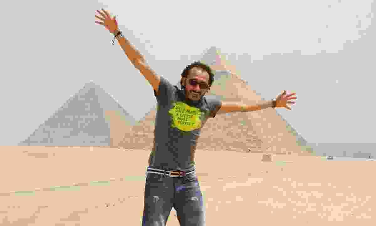 Gold winner, Samer Saied.