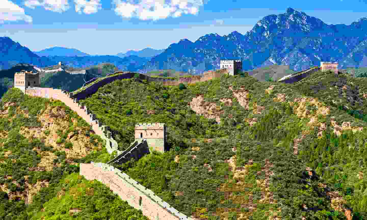 The magnificent Great Wall of China (Dreamstime)