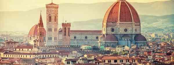 Florence bathed in sunshine (Dreamstime)