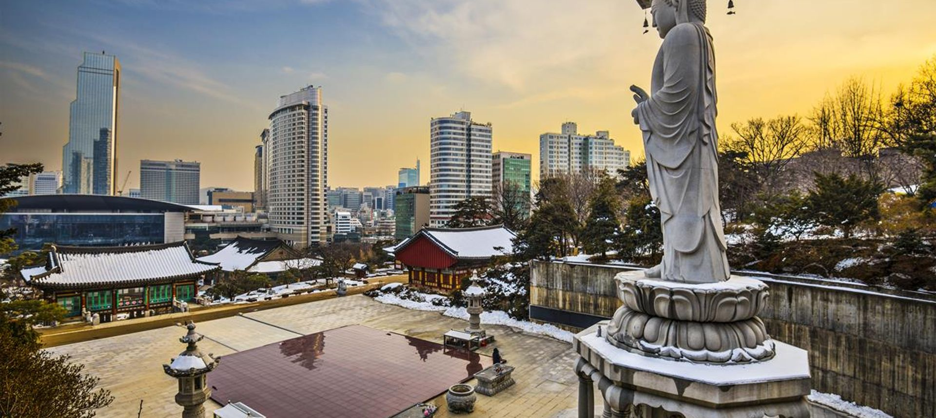Discover peaceful temples in Korea's southern mountains (Dreamstime.com)