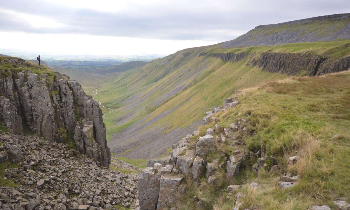 Britain's equivalent of the Grand Canyon (Phoebe Smith)