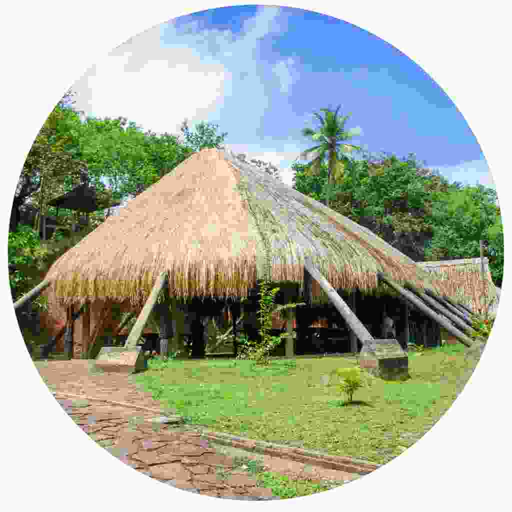 The Kalinago Barana Auté model village