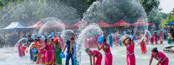 Songkran Festival, in Thailand (Dreamstime)
