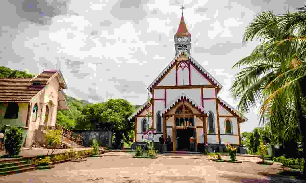 Old Catholic church in Flores (Shutterstock)