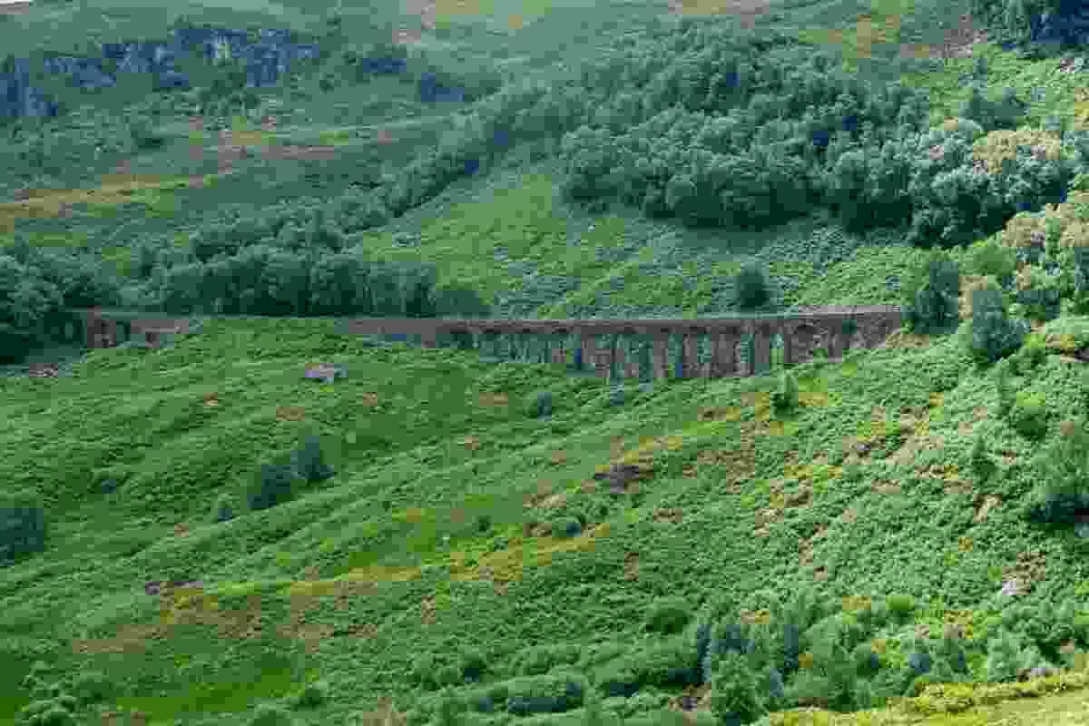 The famous Glen Ogle viaduct, Scotland (Shutterstock)
