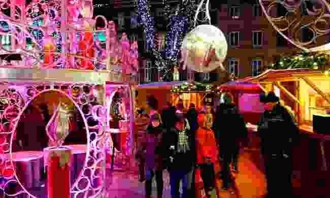The German Christmas Market, Quebec City