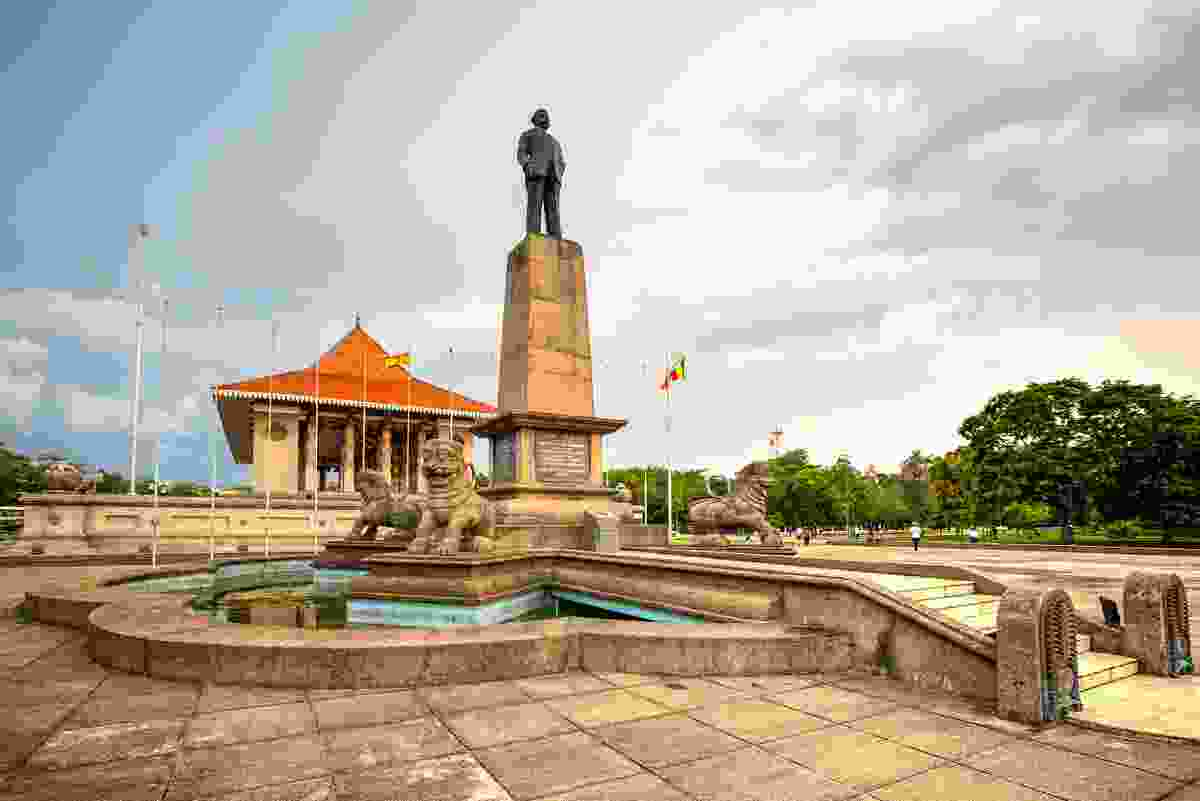 Colombo's Independence Park, Sri Lanka (Dreamstime)