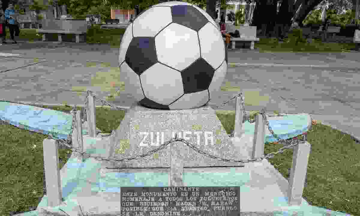 Monument to Football, Zulueta (Claire Boobbyer)