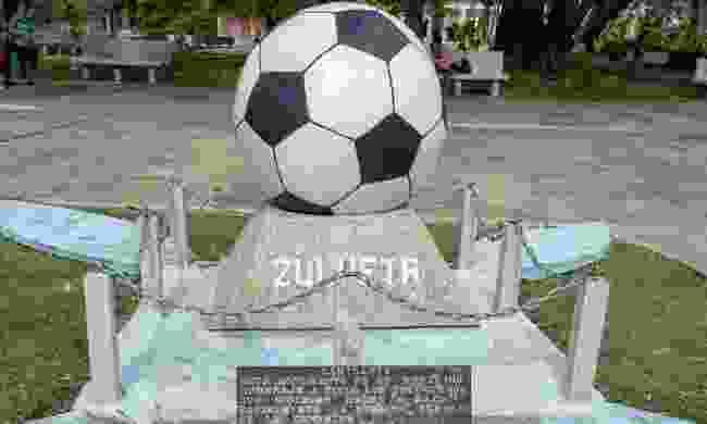Monument to Football, Zulueta (Claire Boobbyer)